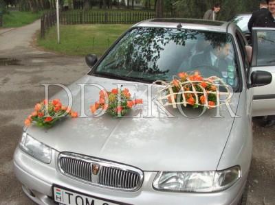 Menyasszonyi autódísz