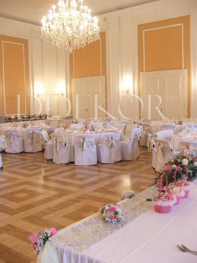 Esküvői dekoráció Bécs Kursalon