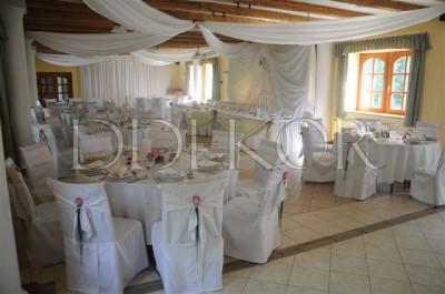 Gerébi Kúria esküvői dekoráció