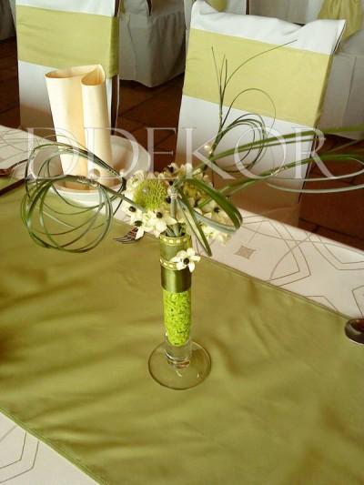 Különleges ornithogalumos asztaldísz