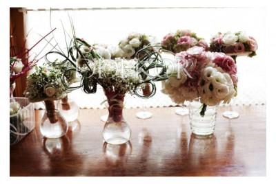 Szülőköszöntő, dobó - koszorúslány virágok